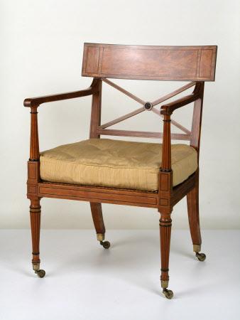 Armchair cushion