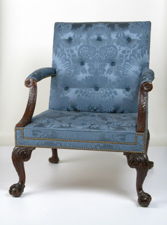 Library armchair