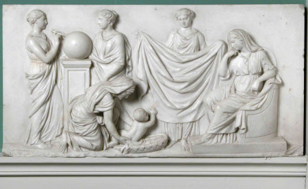 The Finding of Moses, with Urania and another Muse