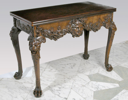 The William Linnell Whist Table, London 1740