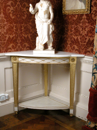 The Stourhead Music Room Corner Tables, 1804