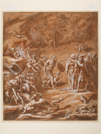 Aeneas at the Entrance to the Underworld
