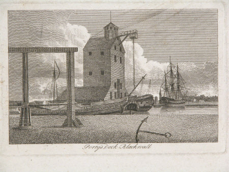 Perry's Dock, Blackwall, London.