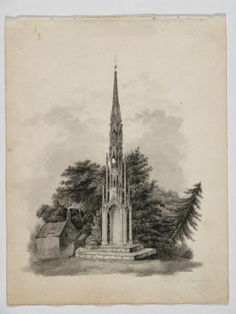 Bristol Cross, Stourhead Gardens, Wiltshire