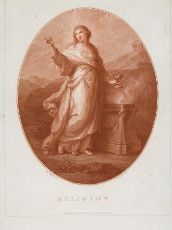 Religion (after Angelica Kauffman)