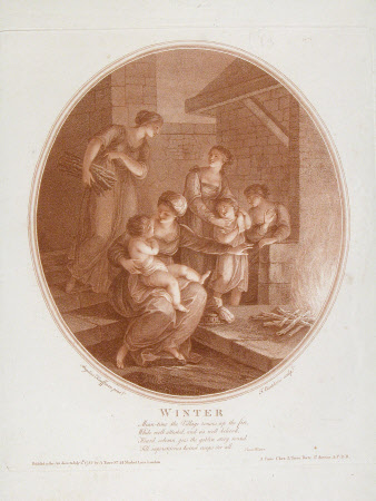 Winter (after Angelica Kauffman)