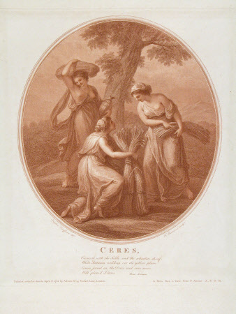 Ceres (after Angelica Kauffman)