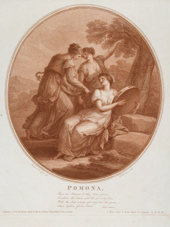 Pomona - Autumn (after Angelica Kauffman)