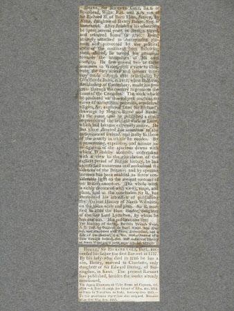 Newspaper cutting