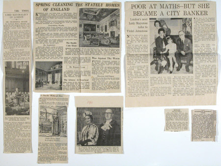 Newspaper cutting collection