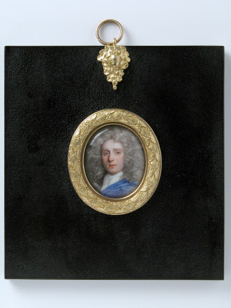 An Unknown Man in a Blue Cloak