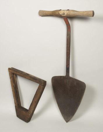 Hay spade