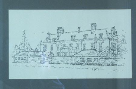 North Front of Wallington Hall, Northumberland