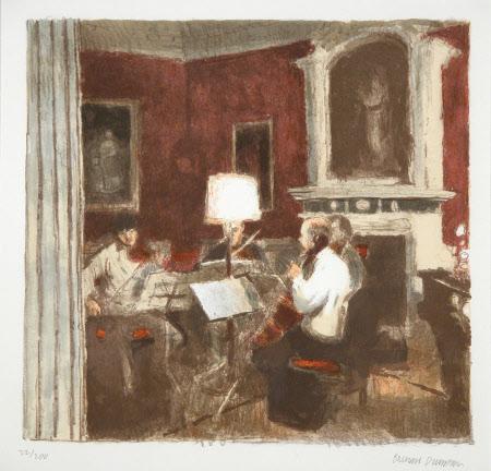 The Rehearsal: The Gabrieli Quartet rehearsing at Stourhead, Wiltshire - John Georgiadis ...
