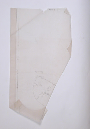 Jacket pattern part