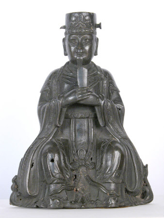 Seated Chinese Figure