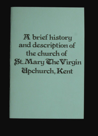 Brief History of St. Marys the Virgin Church