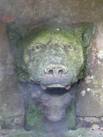 Wolf's Head Fountain Spout
