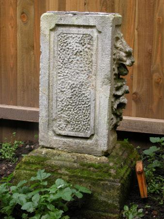 Plinth part