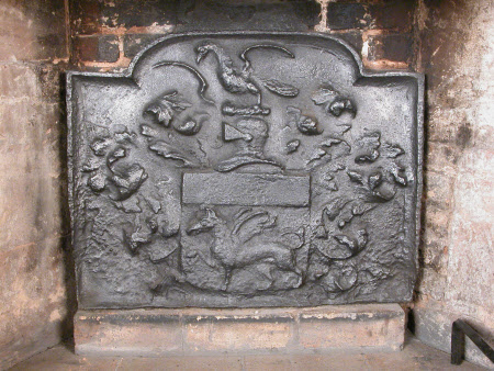 Fireback with Coat-of-arms