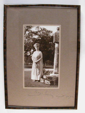 Queen Mary (1867–1953) taken at Packwood House, 23rd August 1927