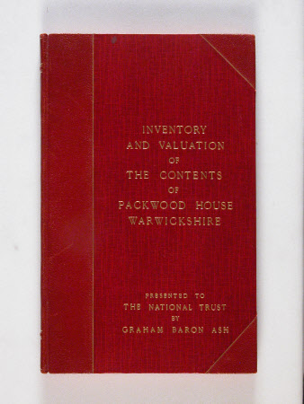 Inventory record book
