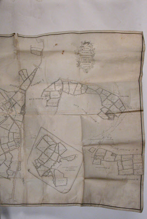 Map of Packwood Estates belonging to Thomas Fetherston Esq., surveyed in 1783