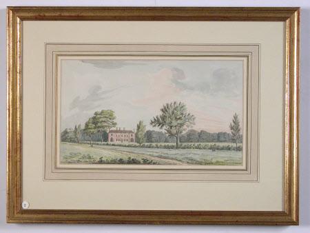 Hardwick House, Aug:6th:1792