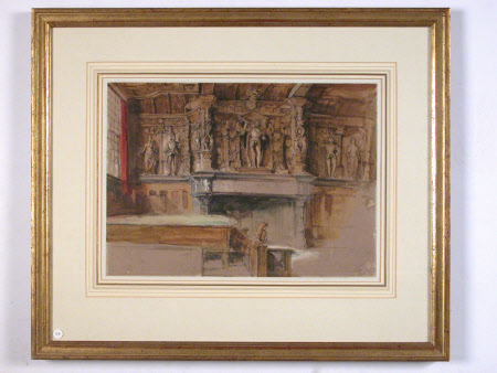 The Renaissance Chimney-piece, Council Chambers, Bruges, Belgium