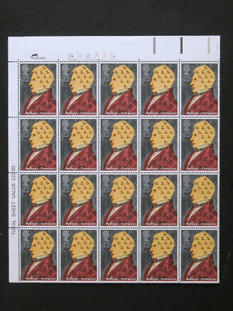 Postage stamp sheet