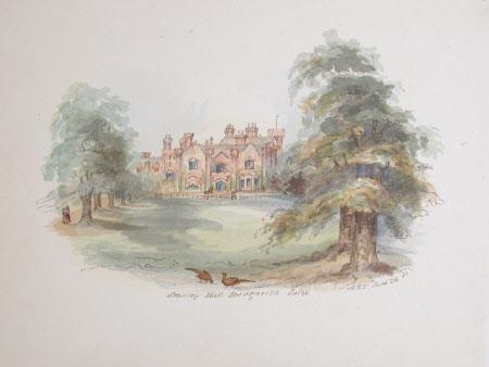 Stanley Hall, Bridgnorth. Salop