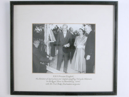 Thomas Williams, Baron Williams of Barnborough (1888-1967) Minister for Agriculture, HRH Princess ...