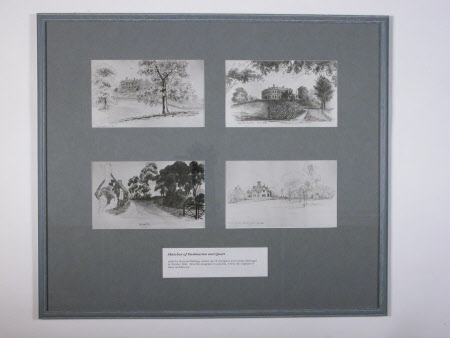 Sketches of Dudmaston and Quatt Village, Shropshire