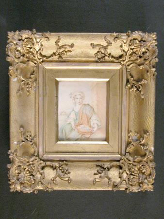 The Flower Girl (after Bartolomé Esteban Murillo)