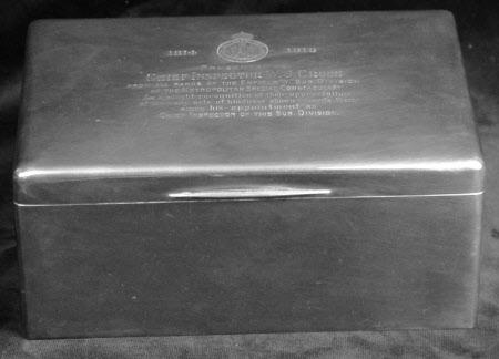 Cigar box