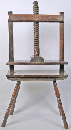 Linen press
