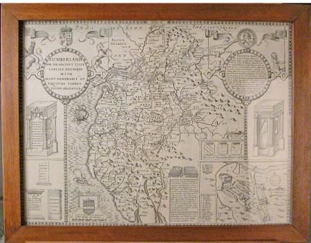 Map of Cumberland