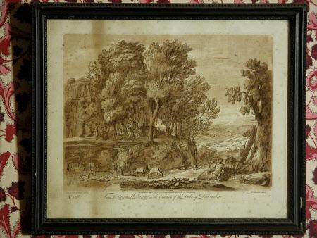 Pastoral Landscape (after Claude Lorrain)