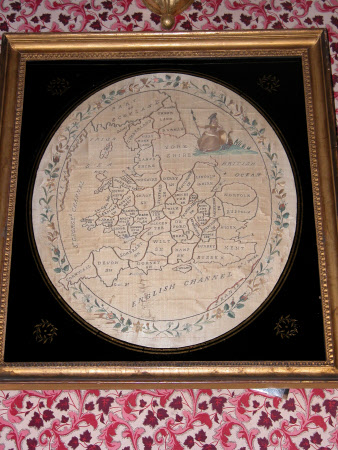 Sampler, Map of England and Wales