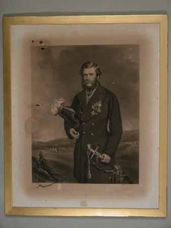 Lieutenant-General The Right Hon. Sir Percy Egerton Herbert, KCB, MP (1822-1876) (after Sir Francis ...