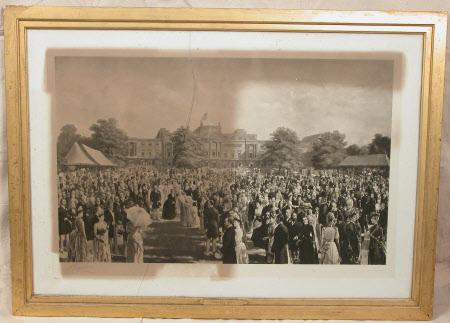 Queen Victoria's Golden Jubilee Garden Party, 2nd June 1887.