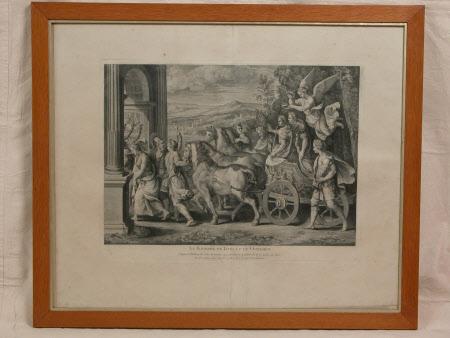 The Triumph of Titus and Vespasian (after Giulio Romano)