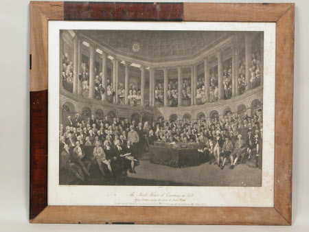 The Irish House of Commons in 1780