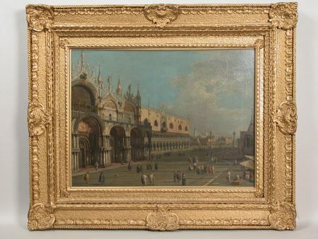 The Piazza San Marco and the Piazzetta, looking South-East, Venice