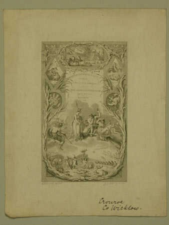 Frontispiece to Batrachomyomachia or The Battle of Frogs and Mice