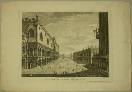 A view of little St. Marks Place at Venice to the sea