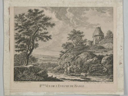 View of Basle (after Johann Gottlieb Hackert)