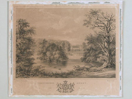 Combermere Abbey, Cheshire (after Augustus Butler)