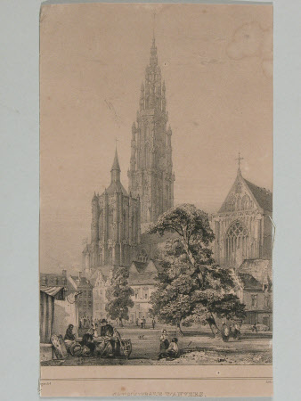 Antwerp Cathedral - Cathedrale dAnvers