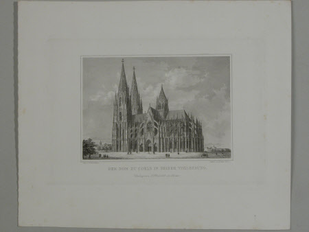 Cologne Cathedral (after C. Schlickum)